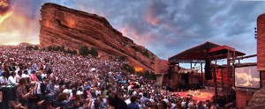 World Famous Red Rocks Amphitheater