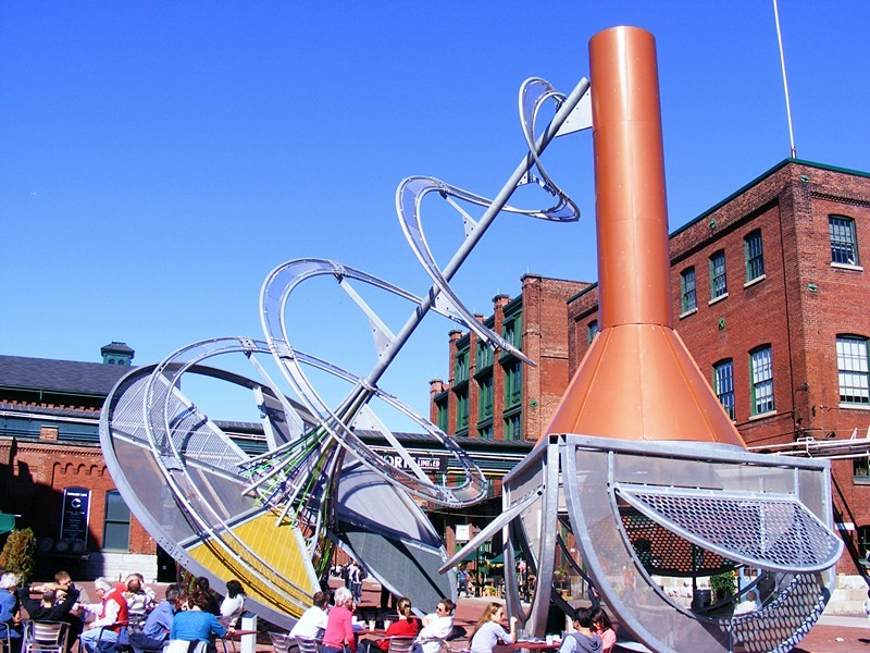 Distillery District  Courtesy of Plismo/Wikimedia Commons