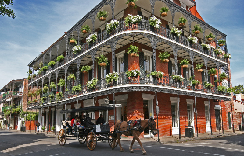 French Quarter, Louisiana