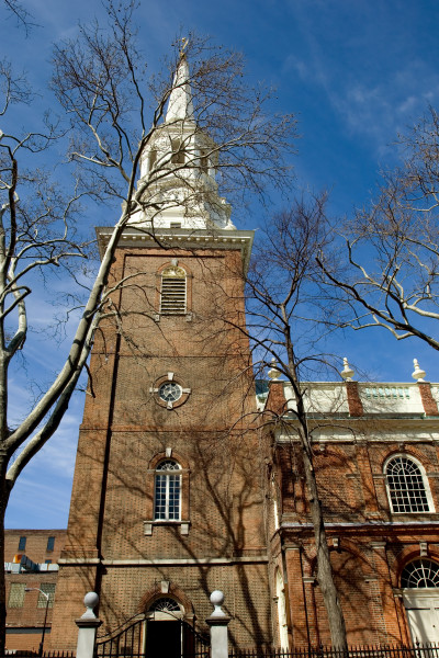 Christ Church's congregation included 15 signers of the Declaration of Independence. American Revolutionary War leaders who attended Christ Church include George Washington, Robert Morris, Benjamin Franklin and Betsy Ross.