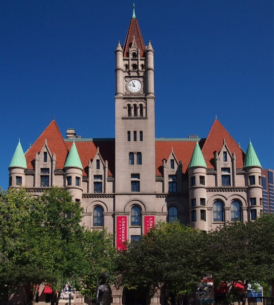 Landmark Center St. Paul Courtesy of McGhiever/Wikimedia Commons