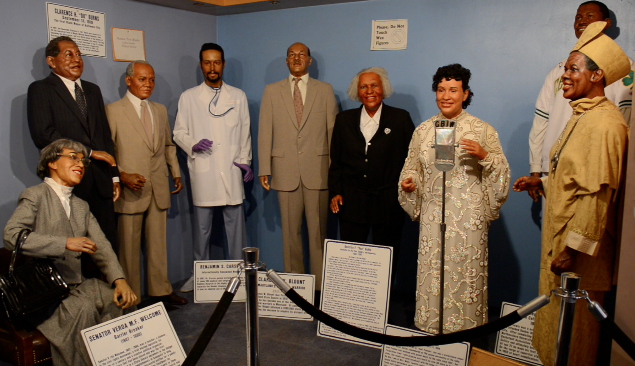 The National Great Blacks in Wax Museum - History Museum ... |Wax Museum Baltimore Harbor