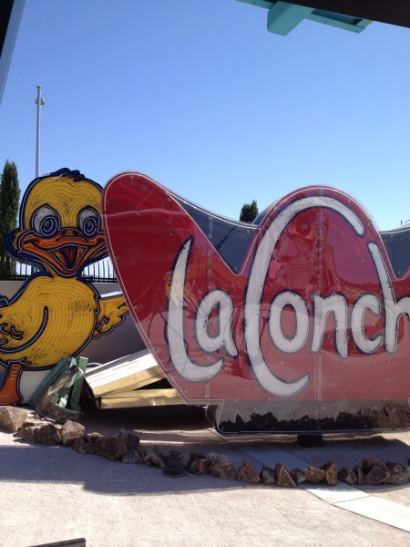 Signs at Neon Museum