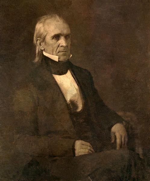 11th US President James K. Polk