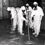 Nuclear Clean up crew at Three Mile Island