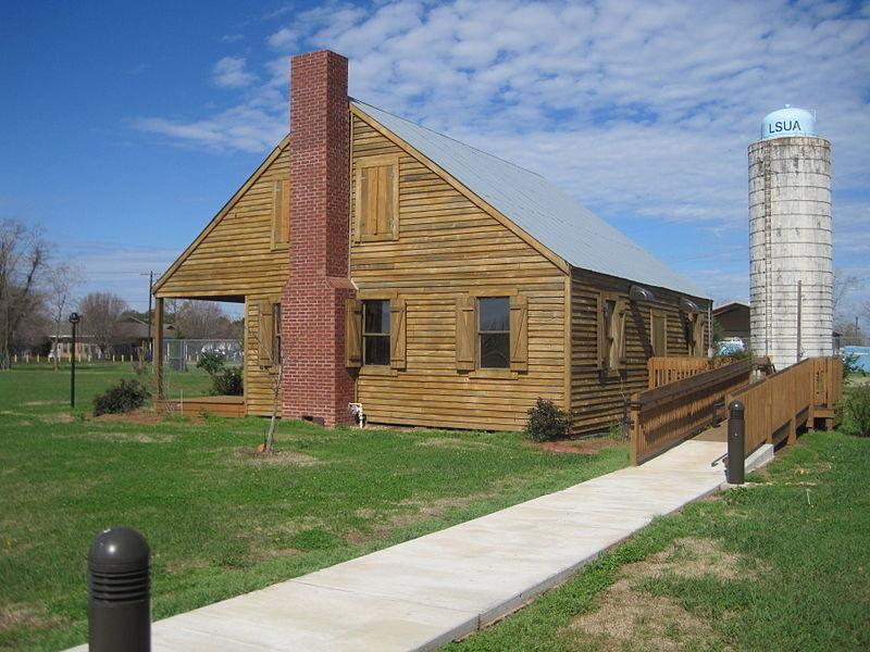 Epps plantation home where Solomon was enslaved.