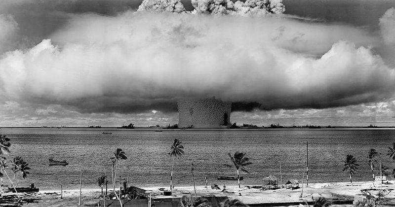 Bikini Atoll Nuclear Blast