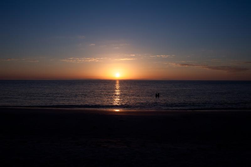 Sunset at Fort DeSoto Park, Florida