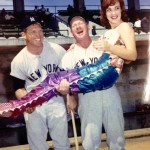 Mickey Mantle and Whitey Ford with Weeki Wachee Mermaid