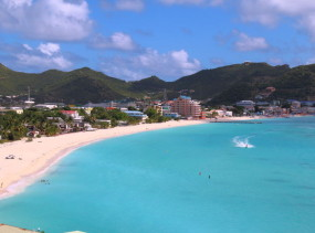 Philipsburg and the Great Bay, Sint Maarten
