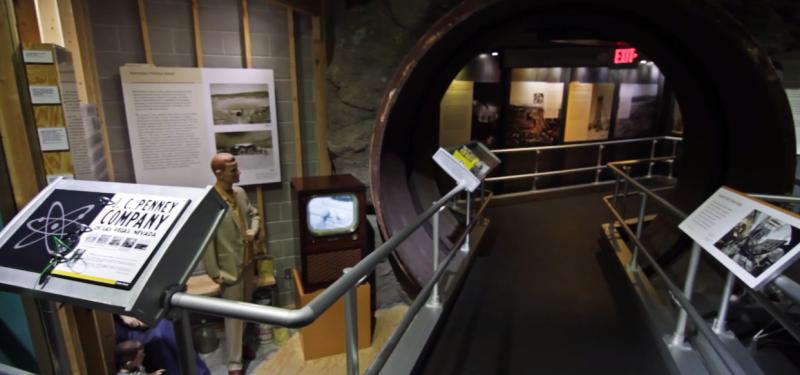 Inside National Atomic Testing museum