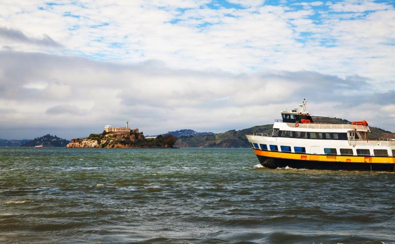 Ferry to Alсatraz island