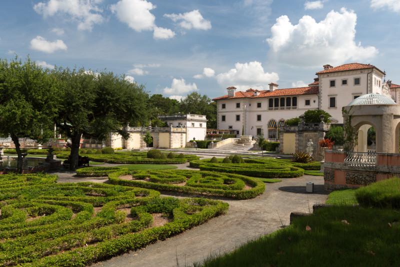 Musée Vizcaya à Miami Dade en Floride