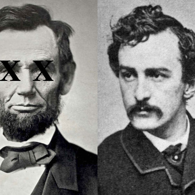 Lincoln & his killer John Wilkes Booth