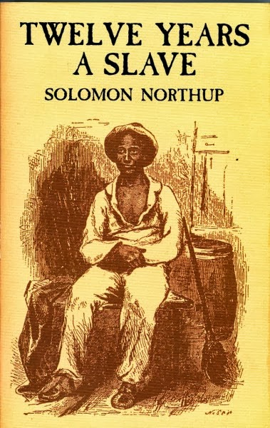 The book cover for 12 Years a Slave