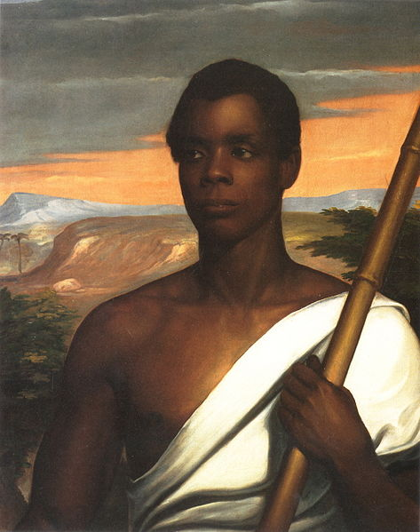 Portrait of Sengbe Pieh (Joseph Cinqué) by Nathaniel Jocelyn.