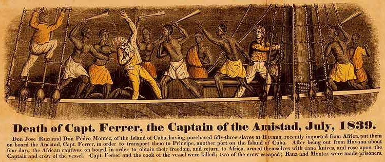 The Amistad slave revolt