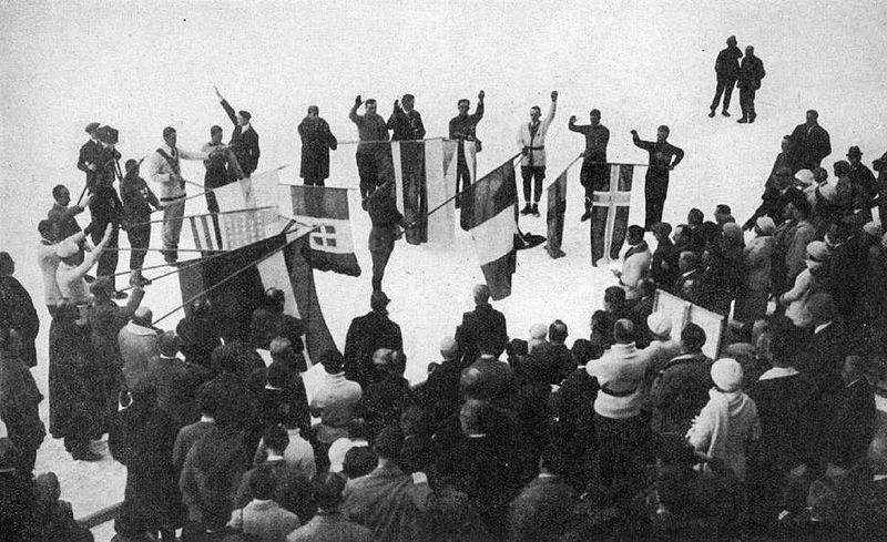 The first Winter Olympic Games in Chamonix, France - 1924