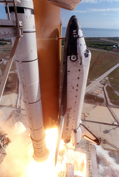 STS-107 Columbia's launch