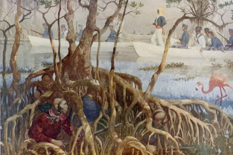 US Marines searching for Seminoles