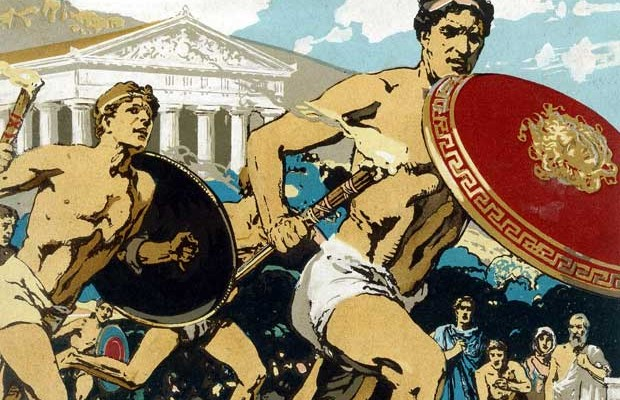 who started the ancient olympic games