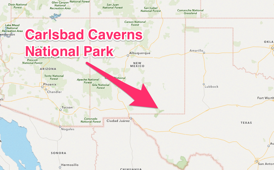 Travel Thru History Carlsbad Caverns Tours New Mexico Not Your