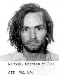 Charles Manson Mugshot