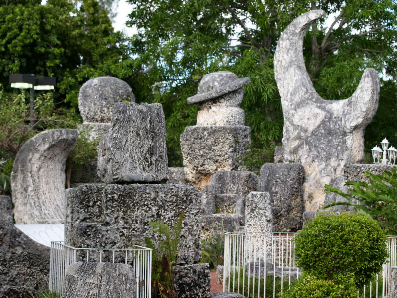 Coral Castle Courtesy of Christina Rutz/Wikimedia Commons