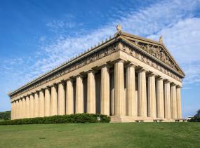 Parthenon Replica at Centennial Park in Nashville, Tennessee