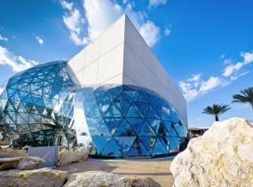 Dali Museum's amazing architecture.