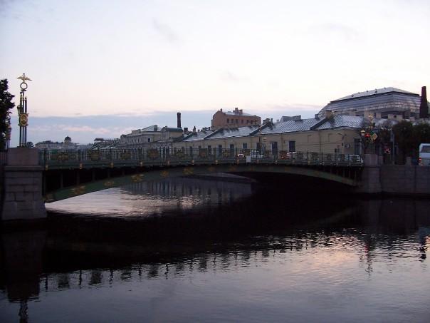 Bridge near Letnii Sad