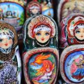 Russian Nesting Dolls, St. Petersburg Russia