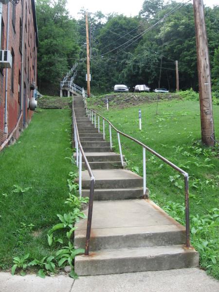 Southside steps