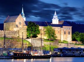 Akershus Fortress, Oslo Norway. Photo via dollarstockphoto.com