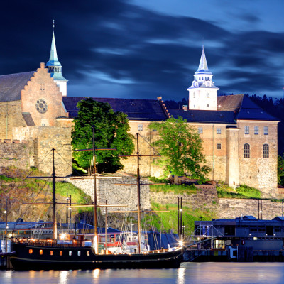 Akershus Fortress, Oslo Norway. Photo via dollarstockphoto.com