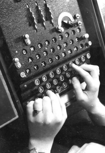 Enigma cipher machine, 1943