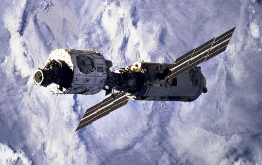 zarya ISS module