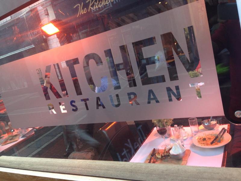 The Kitchen Restaurant, Dublin. Photo by Joe Dorsey.