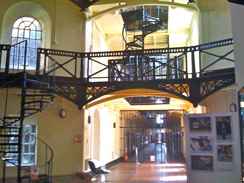 Crumlin Road Jail. Photo via wikipedia.