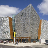 Titanic Belfast, Photo via wikipedia.