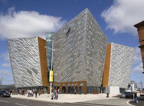 Titanic Belfast, Photo via wikipedia.