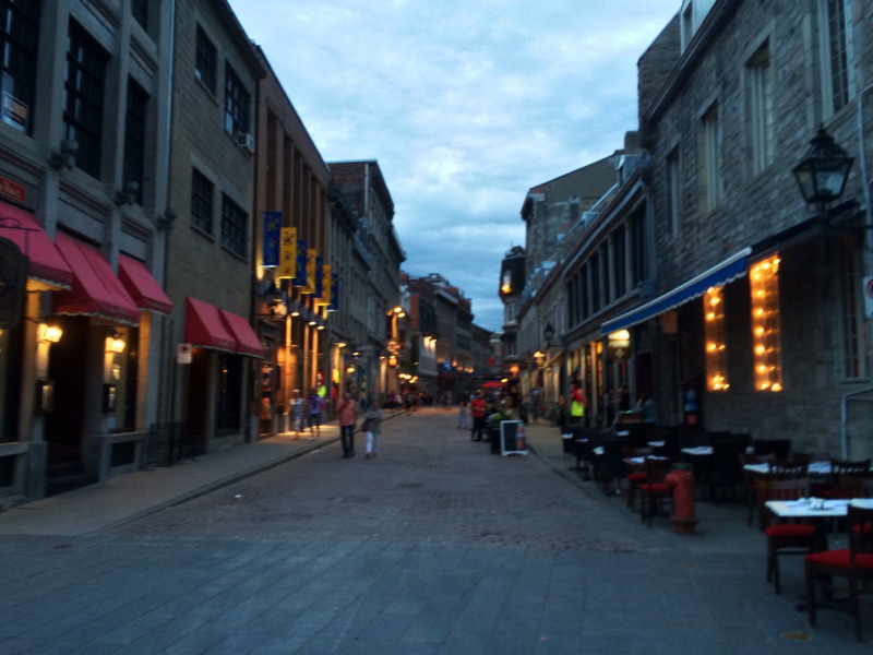 Montreal Old Town. Photo by Joe Dorsey