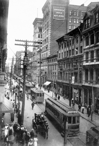Montreal in 1910.