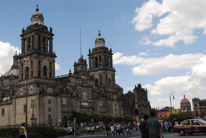Recently restored, Mexico City's basilica is an excellent place to spend an afternoon.