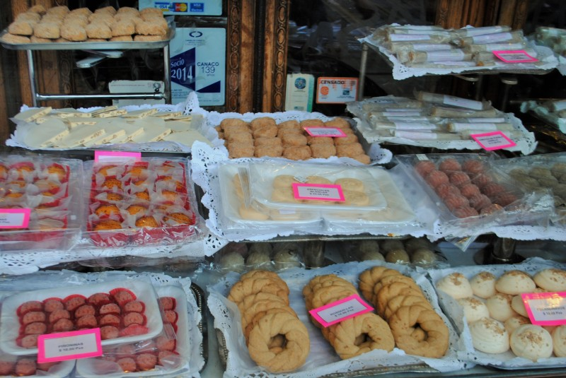Delicious traditional sweets in Mexico City's Zocalo