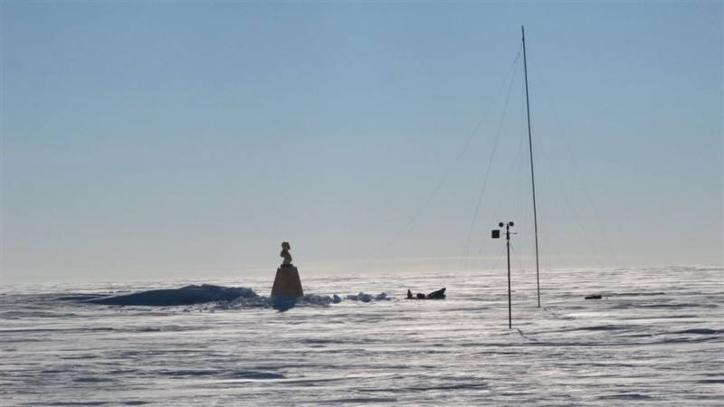 The Southern Pole of Inaccessibility is the most remote place on Earth, and has a statue of Vladimir Lenin on it.