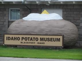 IdahoPotatoMuseumPotato