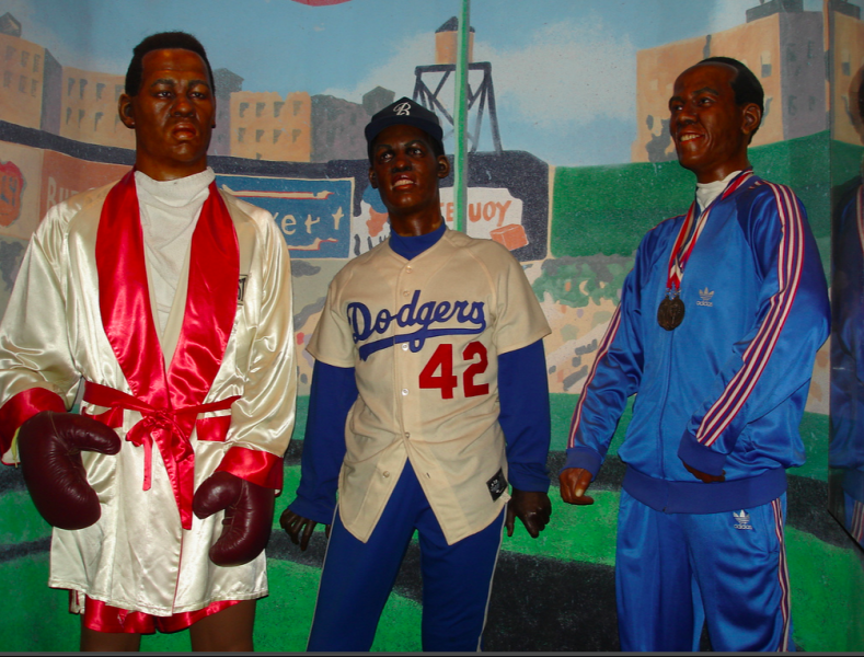 Wax personalities at the National Great Blacks In Wax museum in Baltimore.
