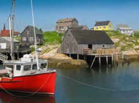 Peggy's Cove - Halifax, Nova Scotia, Canada