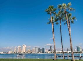 San Diego Skyline from Coronado Island. Photo via dollarstockphoto.com